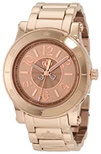 Juicy Couture Women's 1900828 HRH Rose Gold Plated Stainless-Steel Bracelet Watch