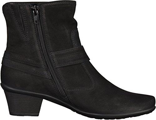 Gabor Mujeres botines negro, (schwarz (Micro)) 96.553.47 schwarz (Micro)