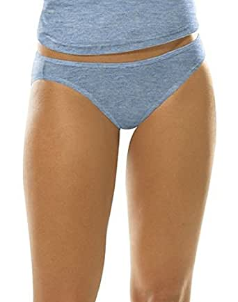 Classics Womens Stretch Sport Bikini Assorted,6 pack,size 6