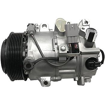 RYC Remanufactured AC Compressor and A//C Clutch EG971