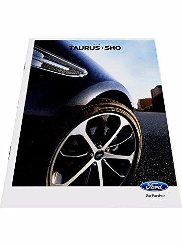 - 2015 Ford Taurus and SHO 32-page Original Car Sales Brochure Catalog