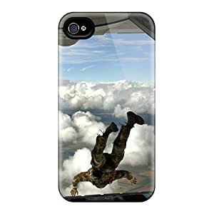High-quality Durable Protection Case For Iphone 4/4s(jumping Out C 130)