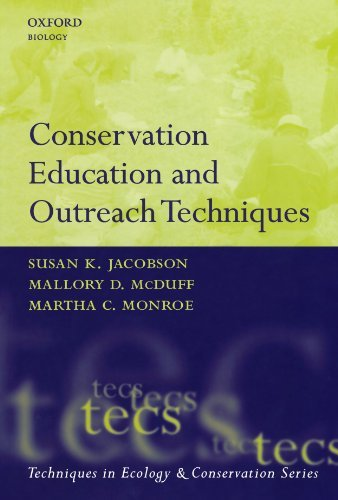 Download Conservation Education and Outreach Techniques (Techniques in Ecology & Conservation) Pdf