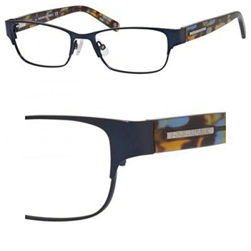 Banana Republic Metal Rectangular Eyeglasses 50 0DA4 Satin Navy