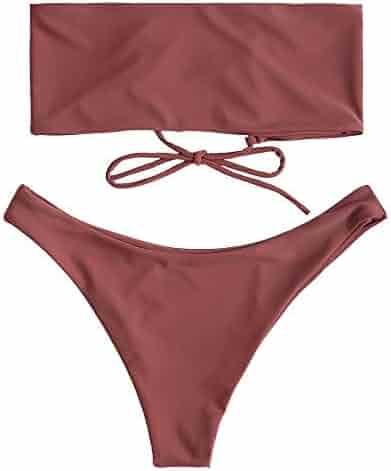 7dfdabff34e31 Shopping POTO or ZAFUL - Bandeau - Bikinis - Swimsuits & Cover Ups ...