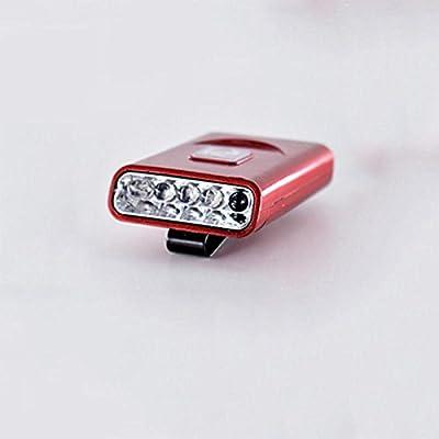Lumière de capteur de LED, Charge étanche Lumières de pêche de nuit , red
