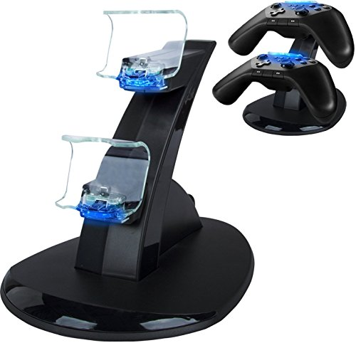 PS4-Controller-Charger-Dual-USB-Charging-Docking-Station-Stand-for-PlayStation-4-Controller-with-LED-Light