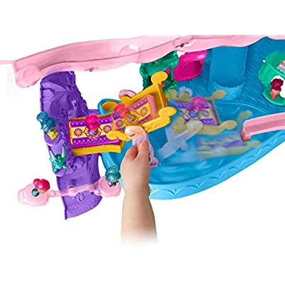 Nickelodeon Shimmer and Shine, Teenie Genies Magic Carpet Adventure Playset: Toys & Games