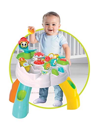 Clementoni- Baby Tavolo attività Parco degli Animali, 12+ Mesi, Multicolore, 17300 4