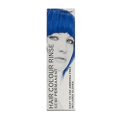 Coloration cheveux semi permanente bleu