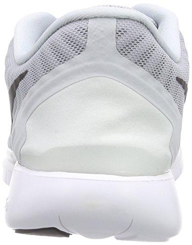 Nike Herren Free 5.0 Laufschuh Reines Platin / Wolf Grey / Cool Grey / Schwarz