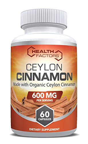 Made with Organic Ceylon Cinnamon to support healthy blood sugar levels and heart health