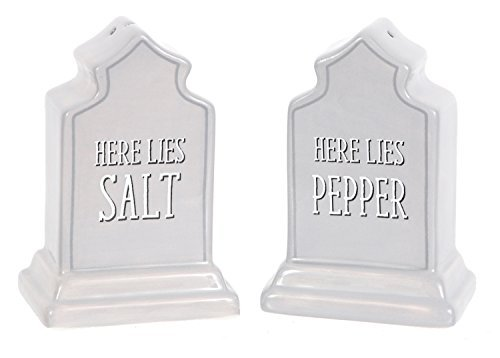 DEI 90552 Salt & Pepper Set 5.0 x 2.0 x 3.5 Gray ()
