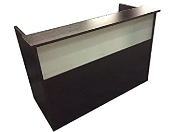 Pleasant Dfs Reception Desk Shell Which Fits A 15 Monitor 60 W By 30 D By 44 H Espresso W Frosted Glass Front By Dfs Designs Pdpeps Interior Chair Design Pdpepsorg