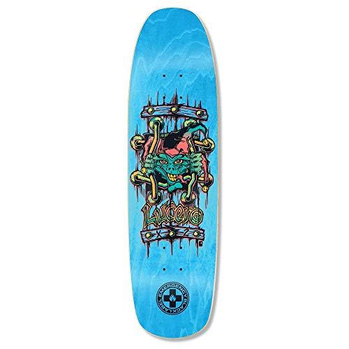 Black Label Deck - Black Label Skateboard Deck Emergency Lucero X2 Blue 8.88
