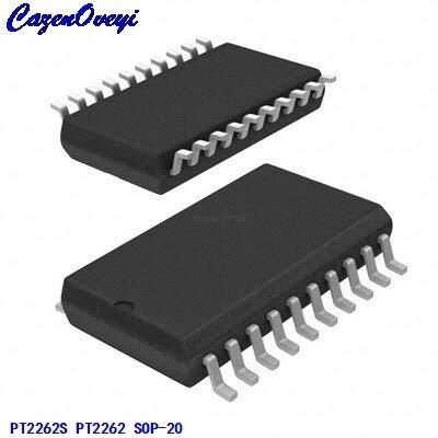 Cailiaoxindong 10pcs/lot PT2262S PT2262 SOP-20 Generic codec IC New Original ()