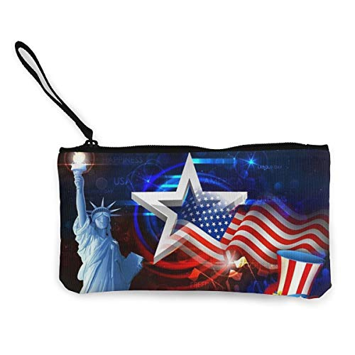 Canvas Pencil Case - The Statue of Liberty
