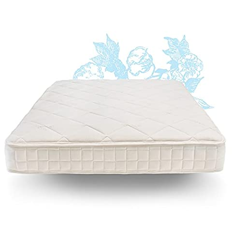 Naturepedic Adjustable Comfort Organic Mattress with Latex - Essentials Series – King Cushion (Naturepedic Mattress Protector)