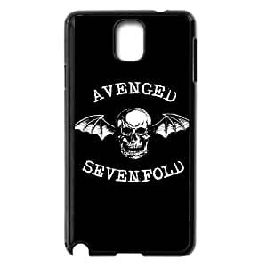 Samsung Galaxy Note 3 Cell Phone Case Black Avenged Sevenfold 003 Delicate gift AVS_725587
