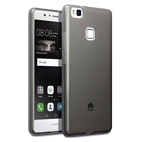 watch 0e773 e8209 Huawei P9 Lite Cases, Terrapin Huawei P9 Lite Cover - TPU Gel - Slim Design  - Durable Shock Absorbing - Back Protector - Smoke Black