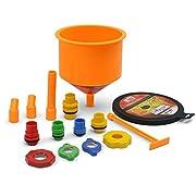 EPAuto Spill Proof Radiator Coolant Filling Funnel Kit