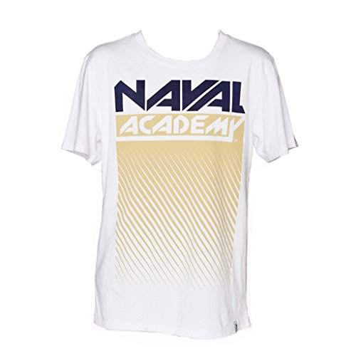 Men's Naval Academy Fade out Short Sleeve T-Shirt (Large) (Naval Academy Football)