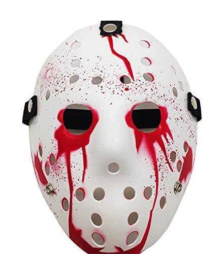 Jason Without Mask - Porous Jason Voorhees Mask, Cosplay Hockey
