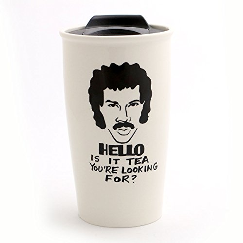Hello Is It Tea Lionel Richie Parody Travel Mug