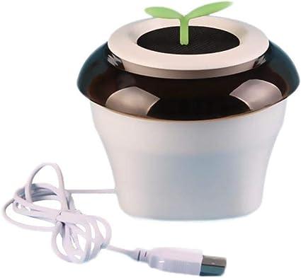 Amazon.es: Purificador de aire del coche de iones negativos, USB portátil purificador de aire, aire más claro Ionizador Ambientador formaldehído Olor Humo Eliminación ...