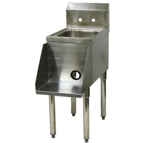 Stainless Steel Blender Station w/ Power Cord access Hole BS-1225
