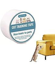 Meubels Anti-Kras Film, Krasmeubelbeschermer, Deur Krasbescherming, Meubelbeschermer Katten Meubelbeschermer Tape, voor Bank, Tapijt, Deuren, Teller Tops (2,5 * 197 Inch)