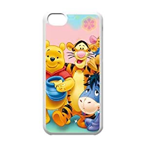 iPhone 5c Phone Case Cover White Disney Winnie the Pooh and the Honey Tree Character Winnie the Pooh EUA15990369 Customized Custom Case