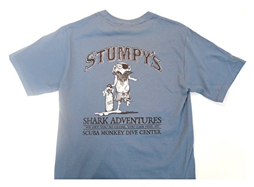 Outhouse Designs (Outhouse Designs Mens Stumpys Shirt S Blue)