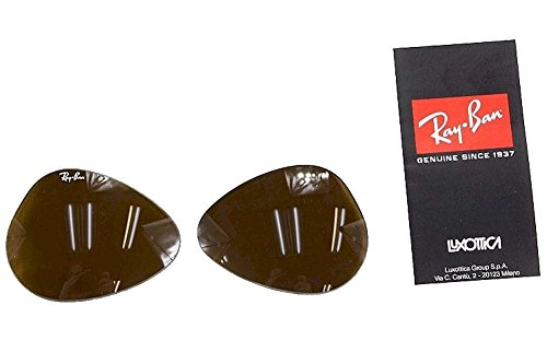 Ray Ban RB3025 RB/3025 RayBan Sunglasses Replacement Glass Lenses Brown - Aviator Sizes Ban Ray In