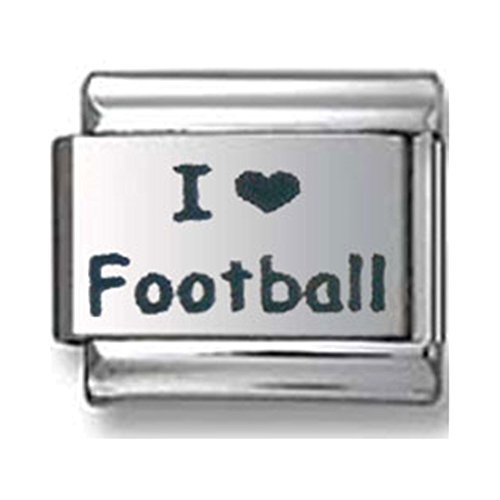 I Love Football Italian charm ()