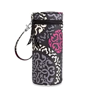 Vera Bradley Baby Bottle or Water Bottle Caddy in Canterberry Magenta