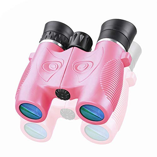 BIBOYELF Binoculars Toys for Children,Birthday Gifts for 4-9 Old Year Girls for Outdoor Play,5-12 Old Year Girls Boys Presents,Best Gift for Kids Hunting,Learning (Pink02) [並行輸入品]   B07TLL3931