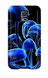 Cute Tpu Christopher T Allen Amazing Mushrooms Case Cover For Galaxy S5