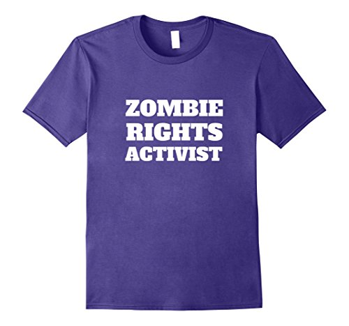 Mens Funny Sarcastic Political T-shirt | Zombie Rights Activist 3XL (Men's Rights Activist Halloween Costume)