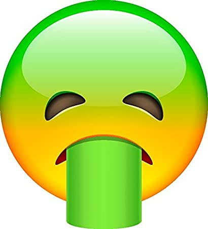 Smiley face emoji green sick amazon smiley face emoji green sick thecheapjerseys Image collections