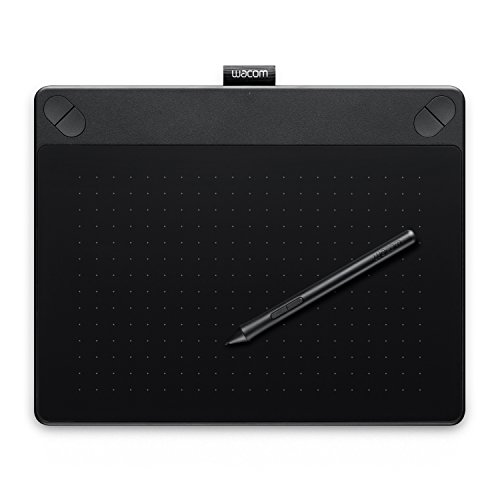 Wacom Intuos Comic Pen & Touch for the Manga illustration production model Size M Black CTH-690 / K1