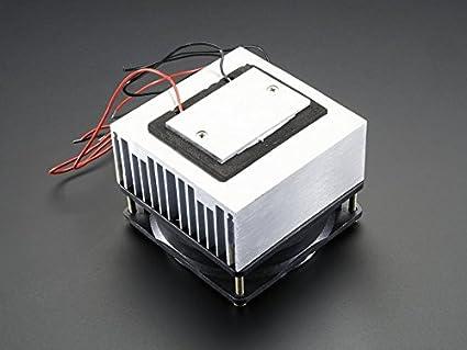 Amazon.com: Adafruit 1335 Peltier Thermoelectric Cooler Module with Heat  Sink Assembly, 12 Volt, 5 Amp: Industrial & Scientific