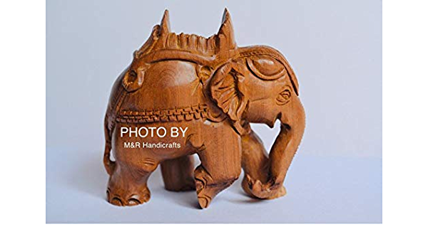 Sandalwood Elephant fine carved