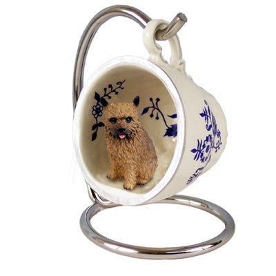 Amazon.com: Norwich Terrier Azul Taza de té perro Ornamento ...