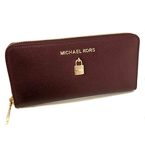 Michael Kors Women's Giftables Adele Zip Around Continental Wallet No Size (Merlot) ()