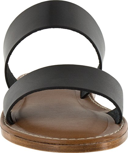 Leather Bella Black Slide Vita Bella Vita Italy Imo Womens Sandal Rw7HxTBq