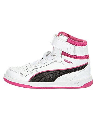 Hautes Enfant Et Rose Blanc Baskets Mixte Liza Puma Mid Jr Noir zYnqpIZxU