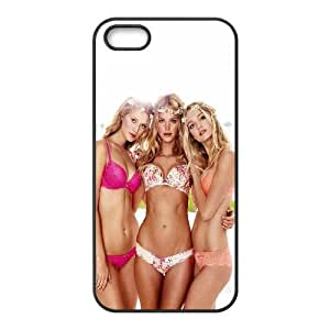 iPhone 5 5S Phone Case Black Hf Victoria Secret Models Sexy Girl VG4V1MLP Mobile Phone Protective Covers