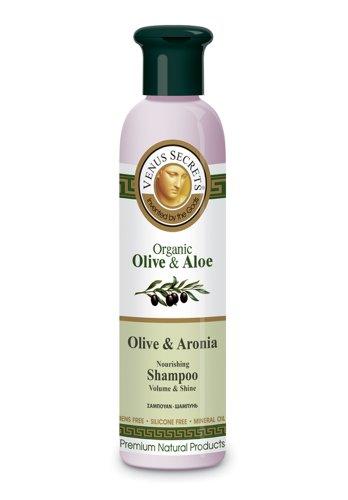 Shampoo / Organic Olive & Aloe with Aronia for Damaged Ha...