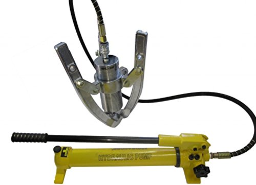 Hydraulic Gear Puller w. Separable Hand Pump Bearing Whee...
